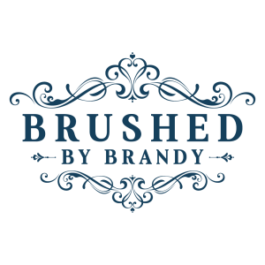 brushed by brandy logo
