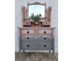 Pretty in Pink Dressing Table