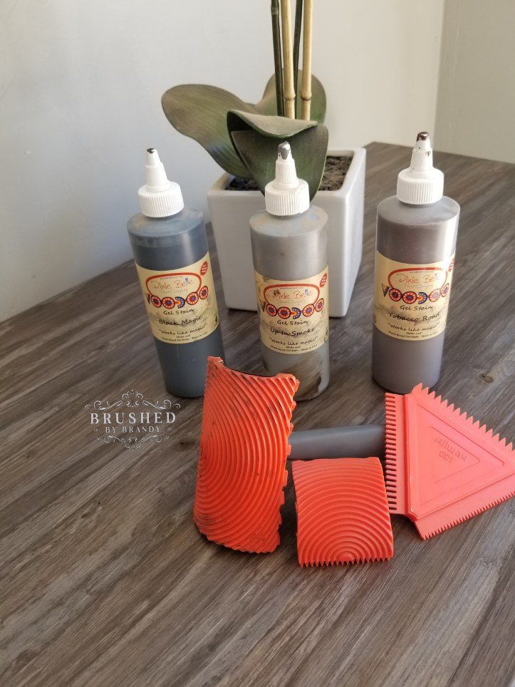 How to Create a Faux Wood Finish VooDoo Gel Stain Brushed by Brandy