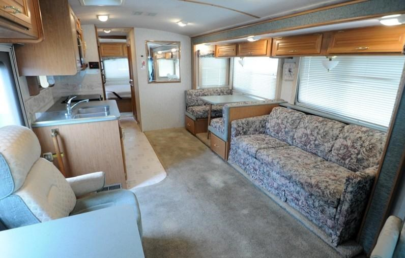 RV Makeover Before and After