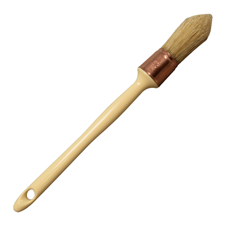 French Tip Brush Selecting The Best Brush For Your Furniture Painting Project