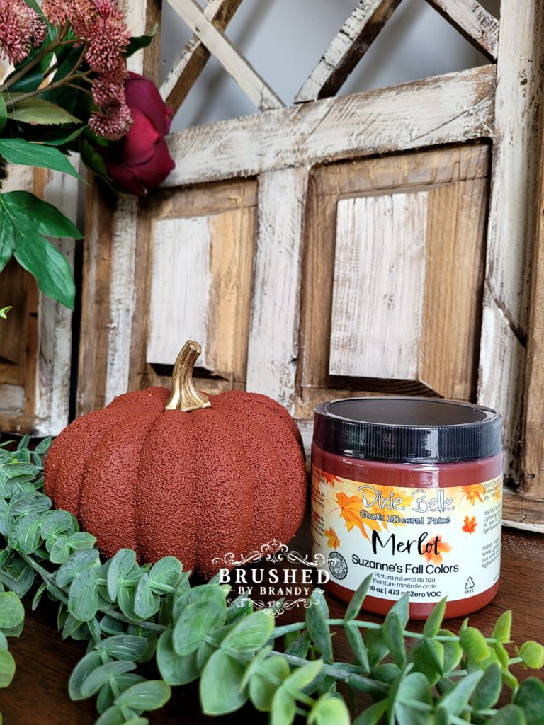 Dixie Belle Merlot Paint Color New Fall Release Brushed by Brandy