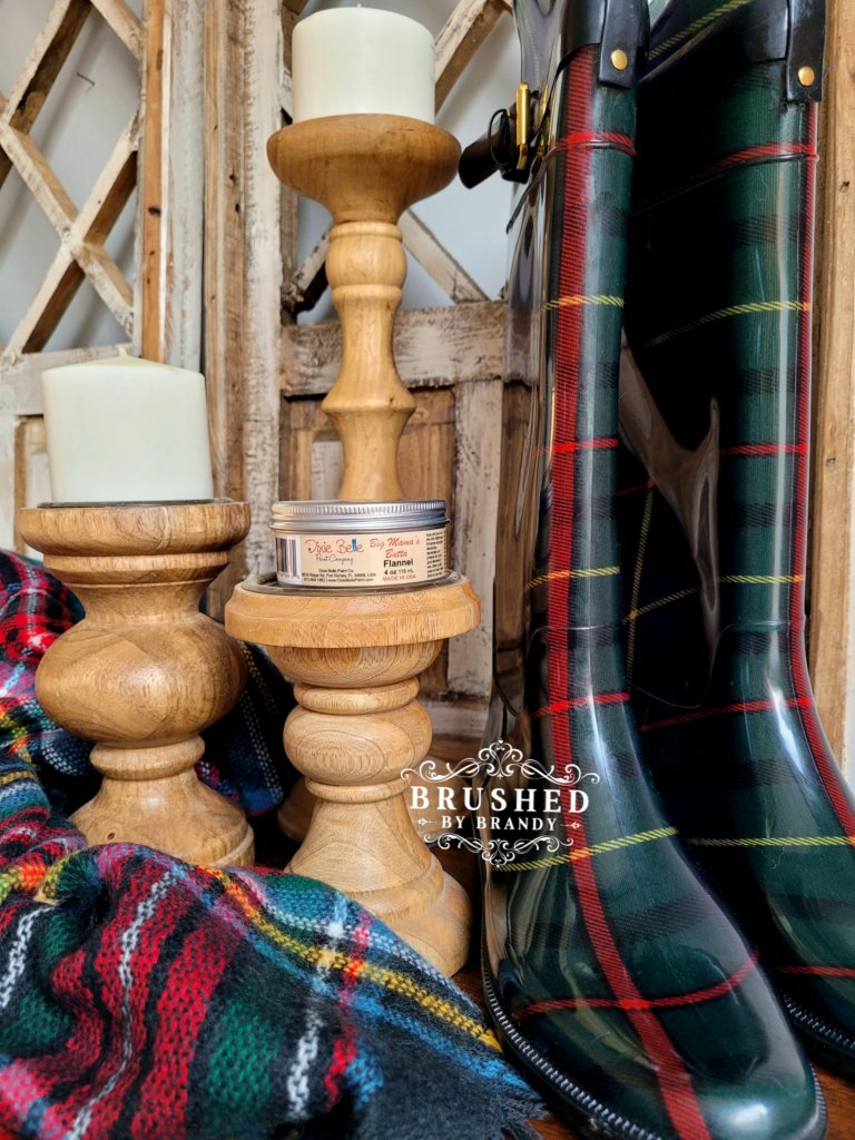 Dixie Belle Big Mamas Butta Flannel Scent New Fall Release Brushed by Brandy