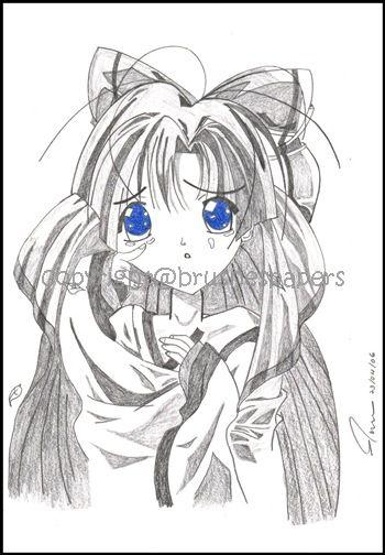 Manga Pencil Drawings
