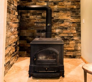 Apartment Woodstove