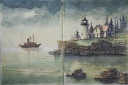 Daler-Rowney Graduate Sketchbook, 14,9 x 21,0 cm - 2015, Carsten Wieland