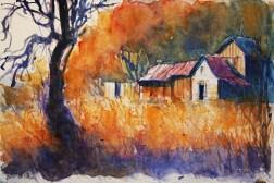 252_2016 Watercolor-Sketches /Daler-Rowney Graduate Sketchbook, 21,0 x 14,9 cm / 8.3 x 5.8 in / Lukas Aquarell 1862
