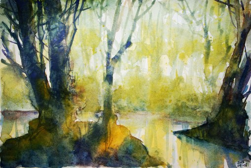 268_2016 Watercolor-Sketches /Marabu Mixed Media 21,0 x 14,8 cm / 8.3 x 5.8 in / Lukas Aquarell 1862