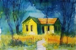 271_2016 Watercolor-Sketches /Marabu Mixed Media 21,0 x 14,8 cm / 8.3 x 5.8 in / Lukas Aquarell 1862