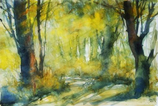 273_2016 Watercolor-Sketches /Marabu Mixed Media 21,0 x 14,8 cm / 8.3 x 5.8 in / Lukas Aquarell 1862