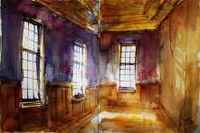 433_2016 Watercolor-Sketches /Daler-Rowney Graduate Sketchbook, 2x 21,0 x 14,9 cm / 8.3 x 5.8 in / Lukas Aquarell 1862