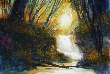 035_2017 Watercolor / Folia – ca. 42,2 x 29,4 cm/ Lukas Aquarell 1862