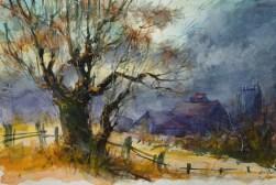 035_2017 Watercolor-Sketches /Marabu Mixed Media 21,0 x 14,8 cm / 8.3 x 5.8 in / Lukas Aquarell 1862