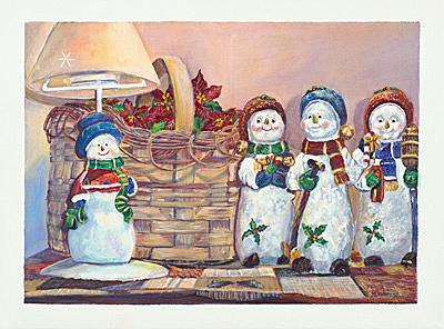 Snowman Gathering