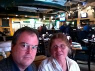 Gretchen and Me at Dogfish Head Brewings & Eats in Rehoboth Beach, Deleware