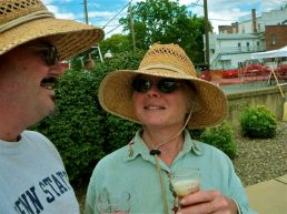 Gretchen and Me at the Selinsgrove Brew Fest