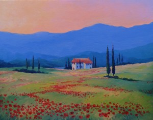 Lakeview in Tuscany