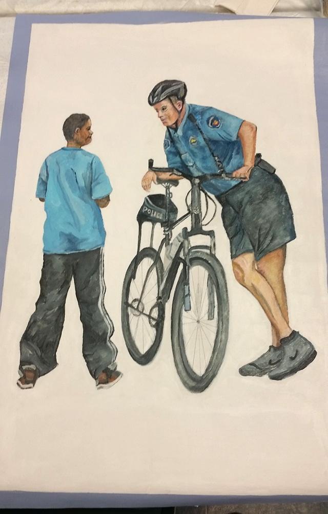 BWTL Norristown Police Mural