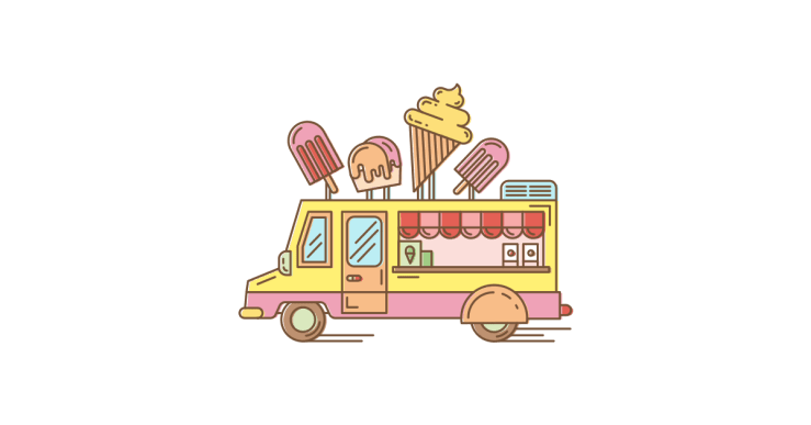 Ice cream truck illustration BWTL likes to think it is as exciting to have their services come to a place as it is to have the ice cream man coming thru the neighborhood!  Just sayin'