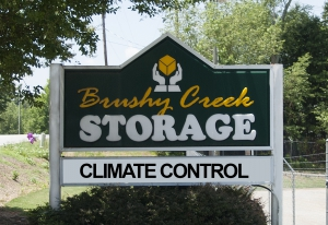 Brushy Creek Storage - Sign