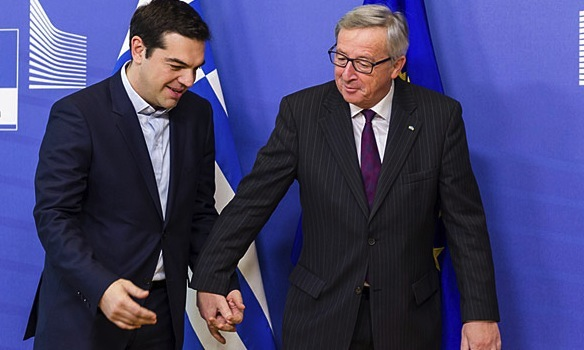 Juncker calls Tsipras to speed up reforms pace