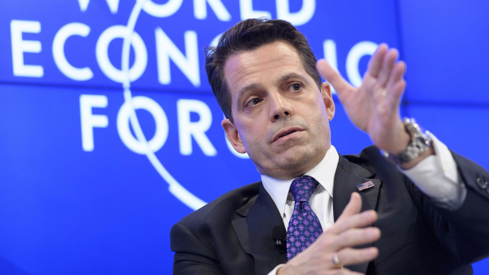 Scaramucci accepts CNN apology on Russian connections