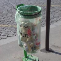 Les poubelles vigipirate  se multiplient à Bruxelles #bruxelles #proprete #ixelles