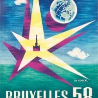 """L' Etoile de l' Expo '58, aux """"Beaux-Arts"""" d' Ixelles #arts #ixelles #bruxelles"""