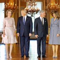 Trumps au Palais de Bruxelles