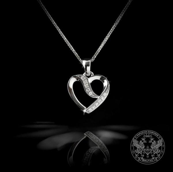 Медальон с диаманти