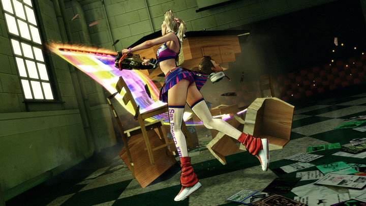 Ps3 Animated Wallpaper Lollipop Chainsaw Tgs Screenshots Brutal Gamer