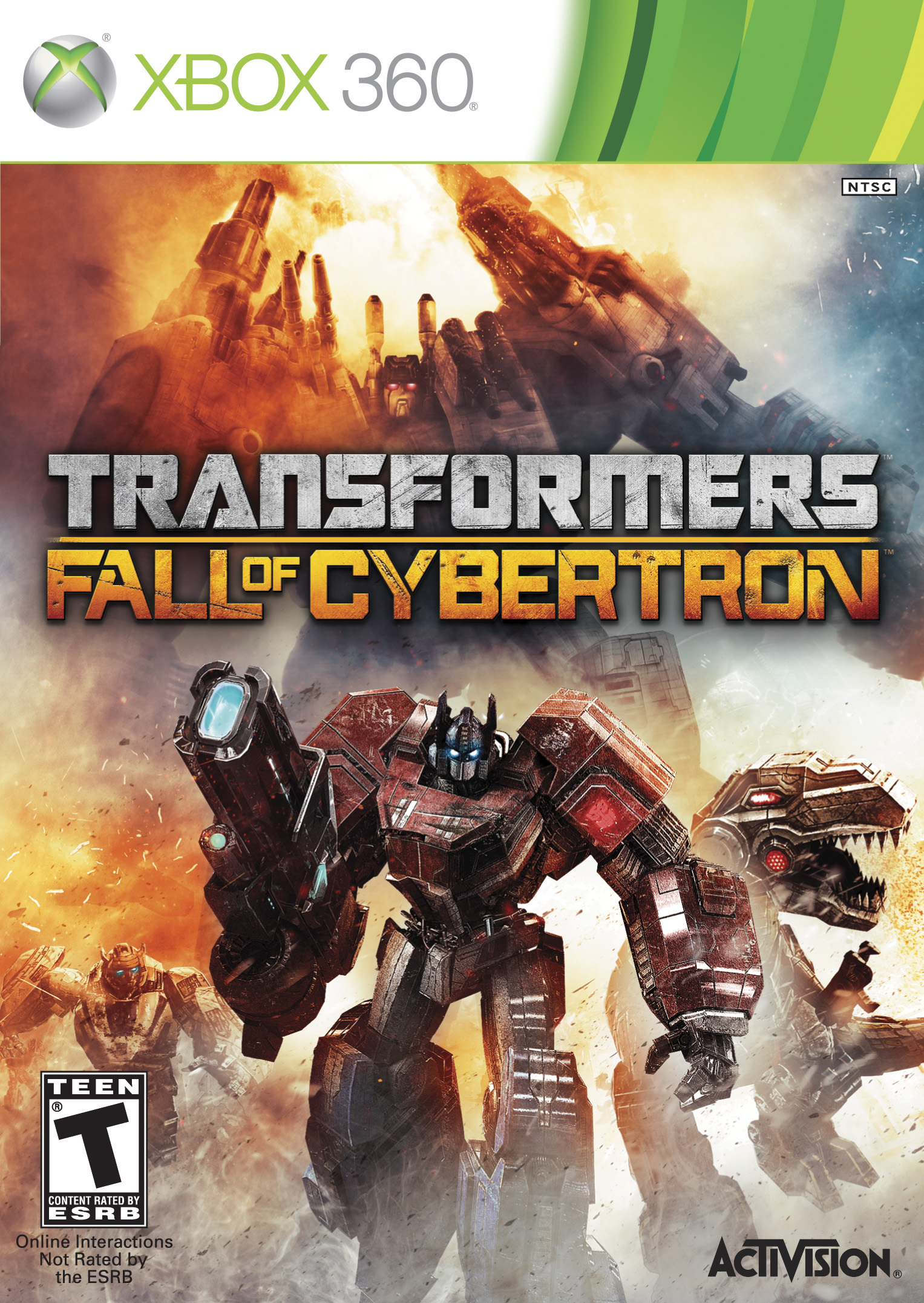 Transformers Fall Of Cybertron Xbox 360 Review Brutal Gamer
