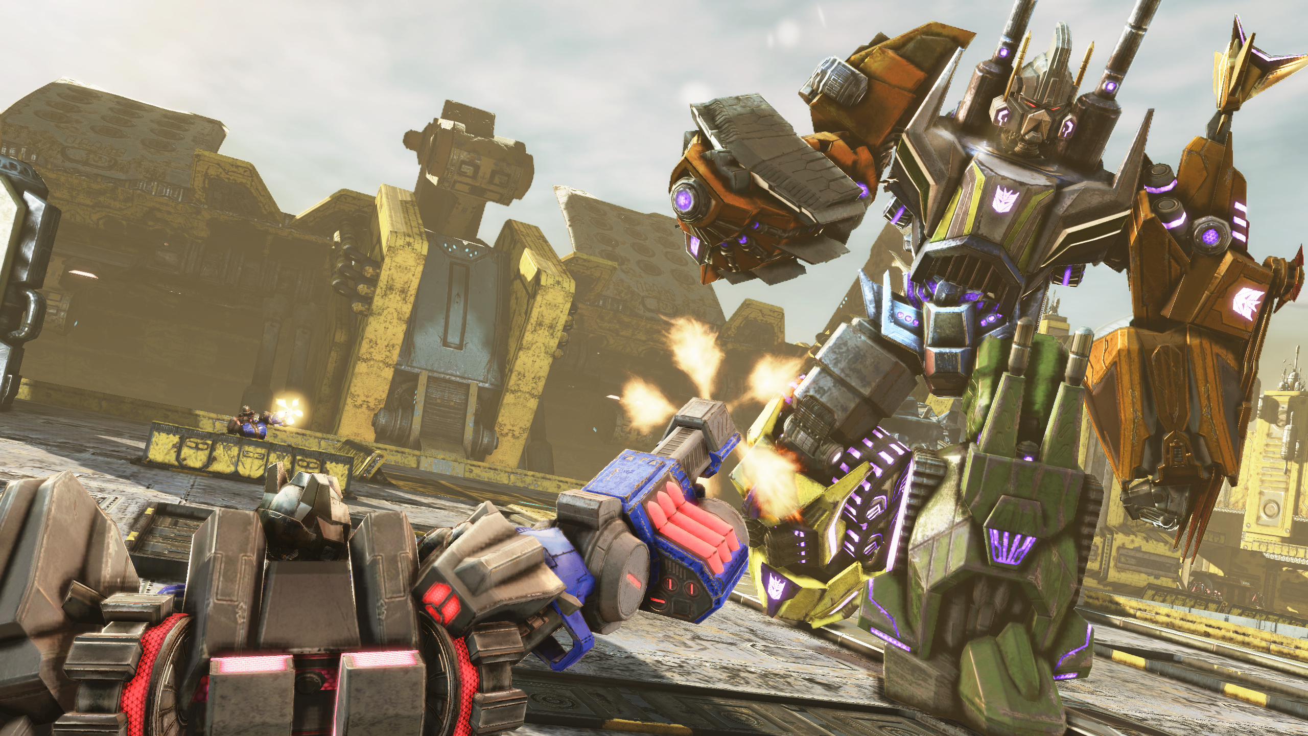 Grimlock Fall Of Cybertron Wallpaper Transformers Fall Of Cybertron Xbox 360 Review Brutal