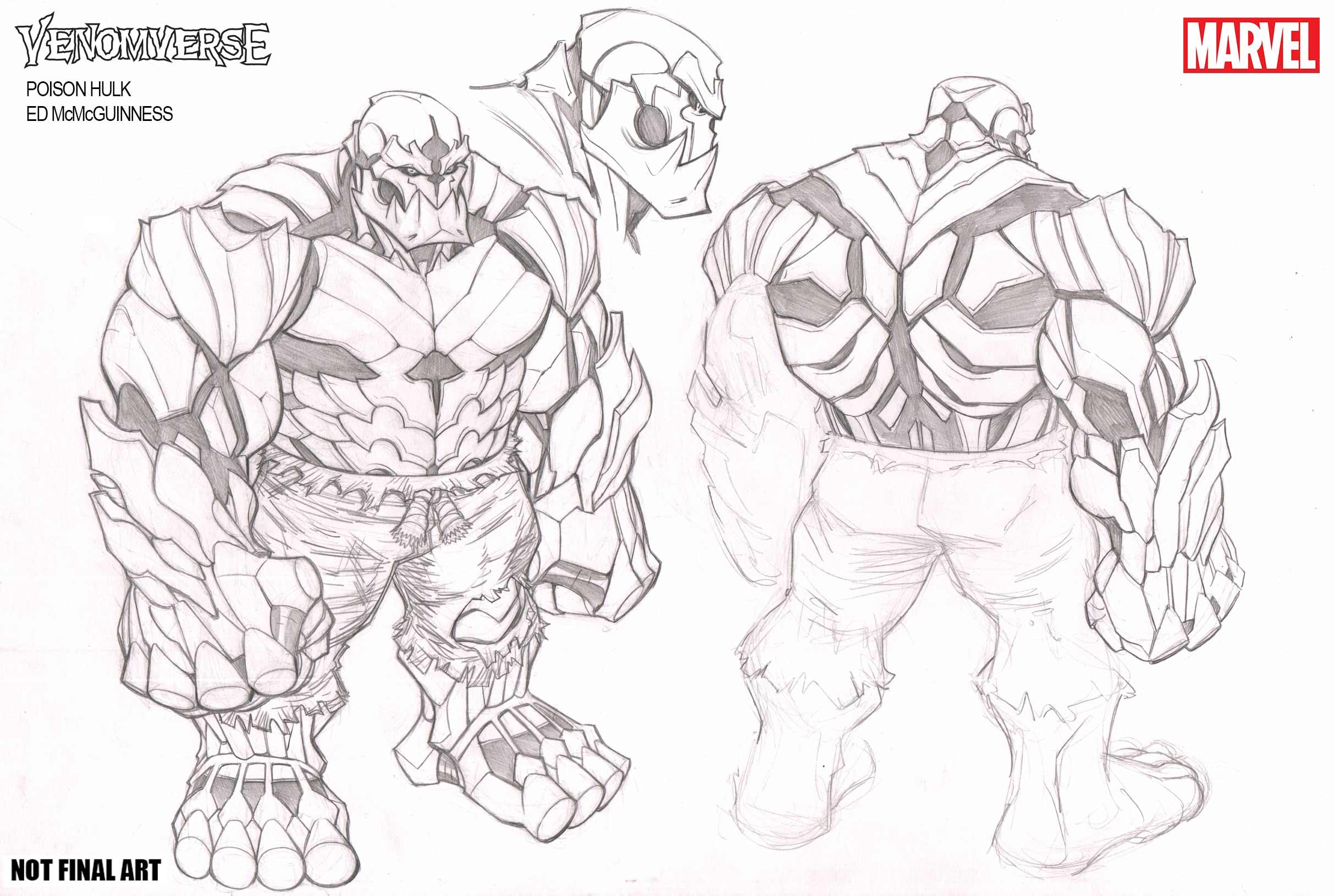 Venomverse Poison Hulk