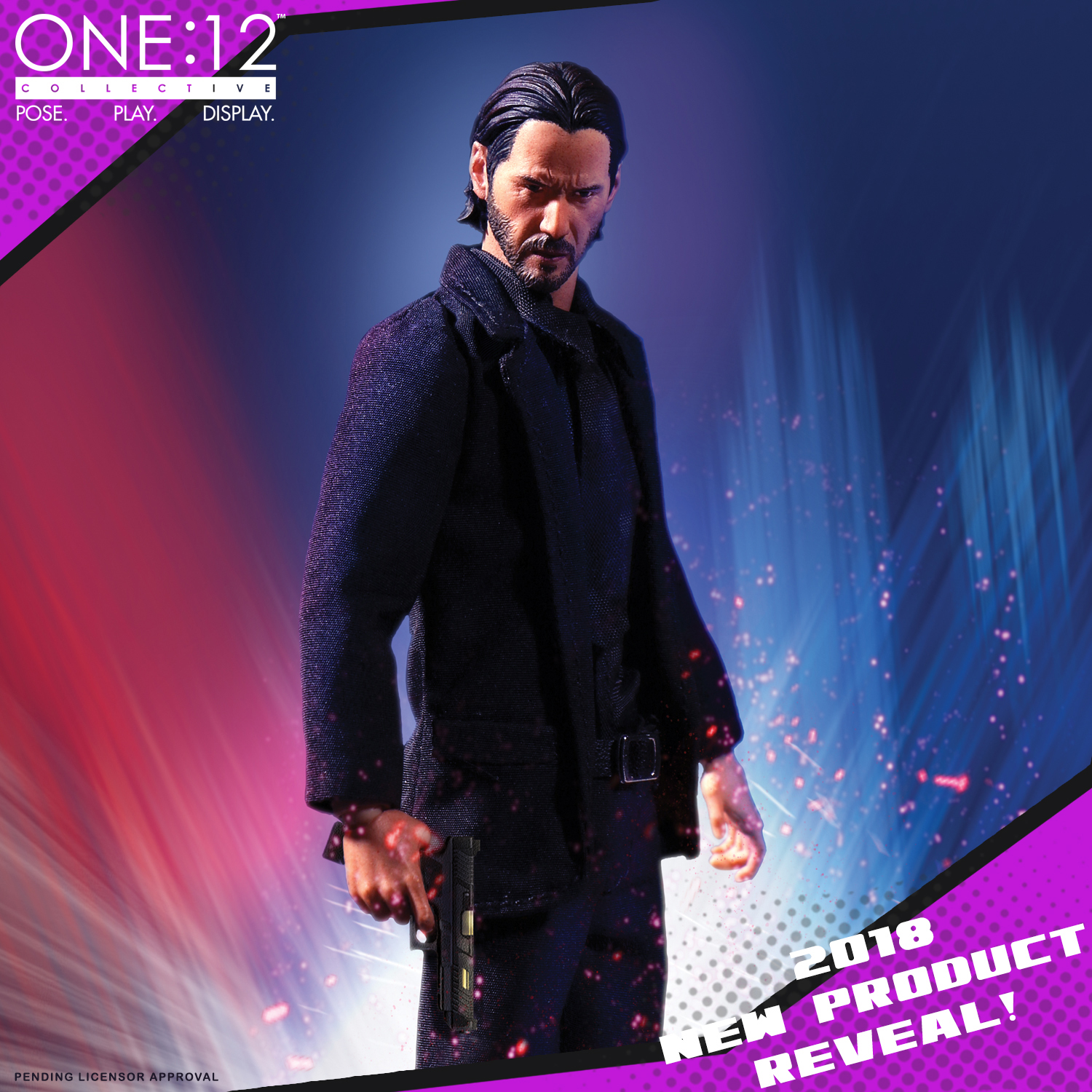 Toy Fair 2018 Mezco Reveals John Wick One12 Collective