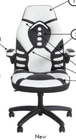 Gaming Chairs Sams : gaming, chairs, Sam's, Makes, Gamers, Gaming, Desks, Chairs, Brutal, Gamer