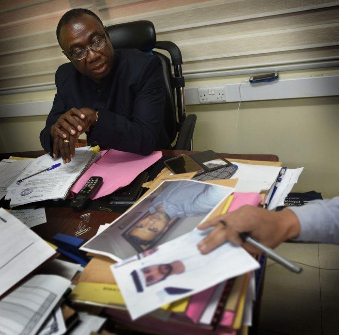 Ghana's Power Minister- Dr Kwabena Donkor. Photo via VG/Harald Henden