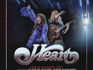 Heart - Live In Atlantic City Cover Art