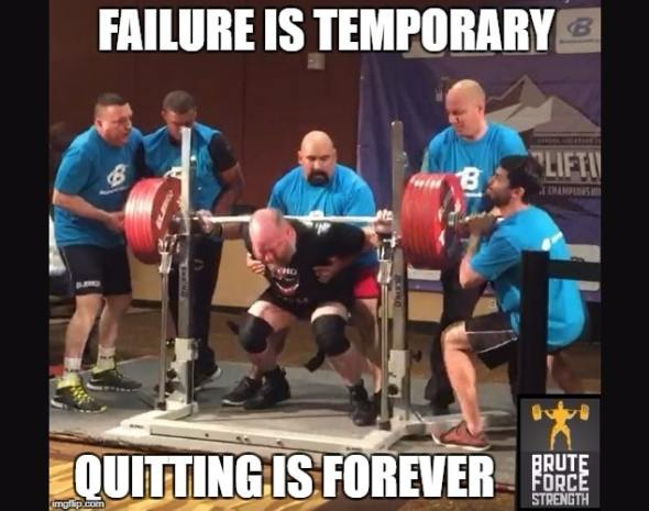 Failure is an option1