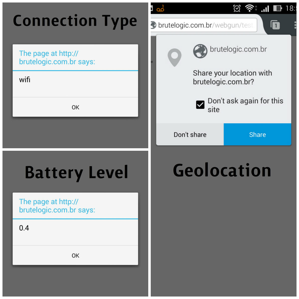 XSS in Mobile Devices - Brute XSS
