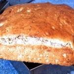 クレームフレッシュ入りパンを作ってみた