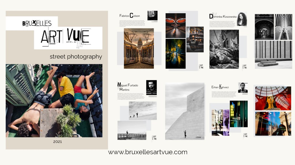 Bruxelles Art Vue Street Photography e-book