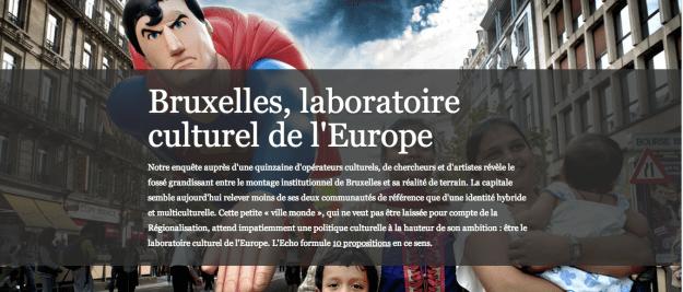 Le laboratoire culturel de l'Europe ?