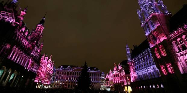 illumination grand place bruxelles 2013