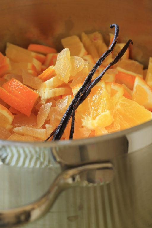 ריבת תפוזים וג'ינג'ר