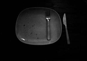 Empty plate.