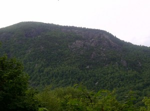 Passing Mount Horrid.