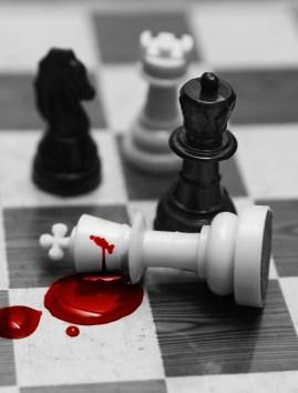 Deadly chess queen