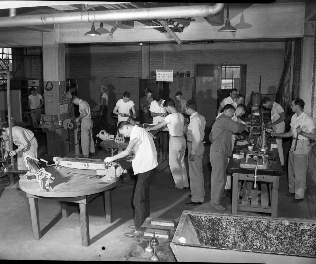 shop class, 1960