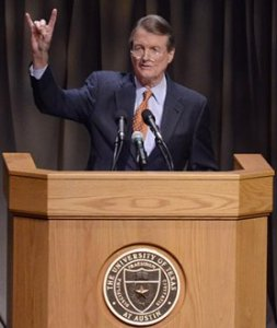 University of Texas president Powers